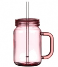 20OZ SINGLE WALL MASON JAR WITH HANDLE