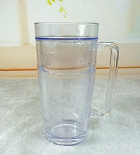 16OZ CLEAR TUMBLER FREEZER MUGS
