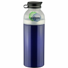 wholesale eco aluminum sports water bottles jugs with carabine